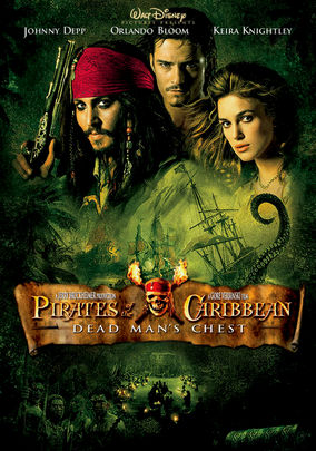 Netflix box art for Pirates of the Caribbean: Dead Man's Chest