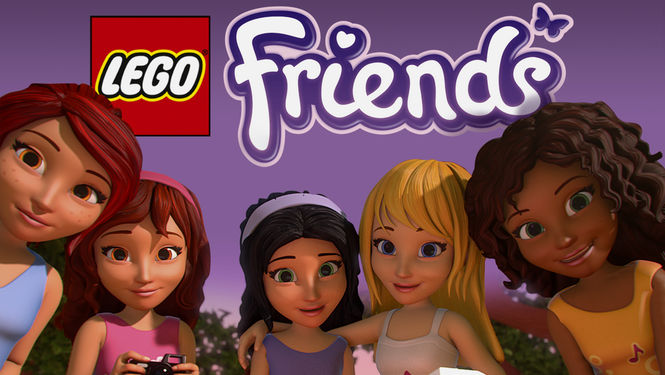 Netflix Box Art for LEGO: Friends - Season 1