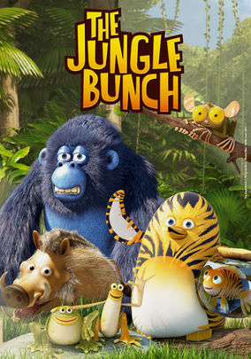 Netflix box art for The Jungle Bunch: The Movie