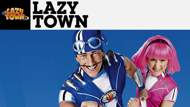 Netflix box art for LazyTown - Season 2