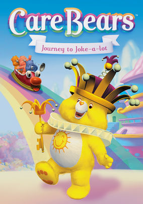 Netflix box art for Care Bears: Journey to Joke-a-Lot