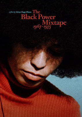 Netflix box art for The Black Power Mixtape 1967-1975