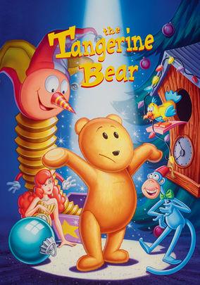 Netflix box art for The Tangerine Bear: Home in Time for Christmas!