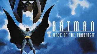 Netflix box art for Batman: Mask of the Phantasm