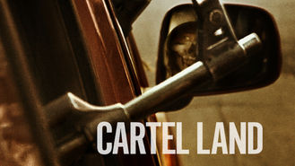 Netflix box art for Cartel Land